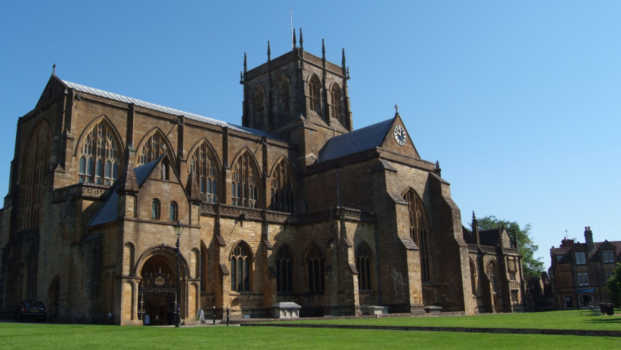 Sherborne Abbey - image by Liz Burt