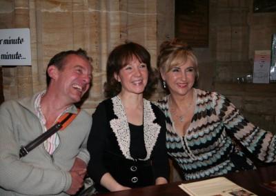 Lesley Garret, Emma Johnson and Andrew West