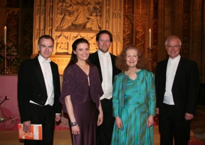 Messiah Soloists and Conductor