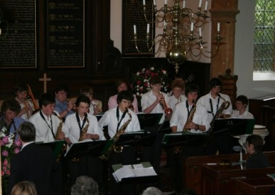 Sherborne School Jazz and Swing Band 01