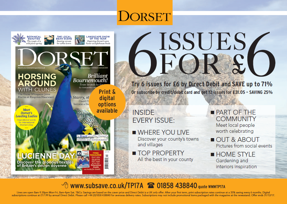 Dorset Magazine Subscription Offer