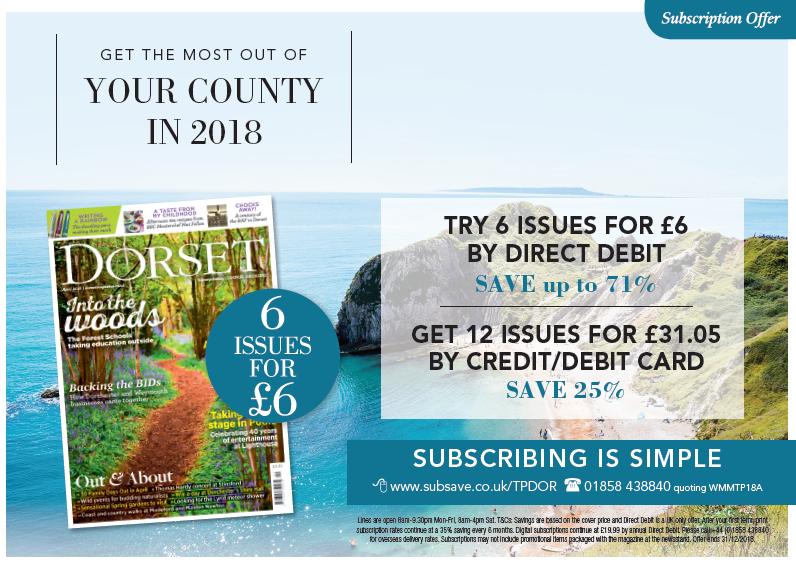 Dorset Magazine Subscription Offer