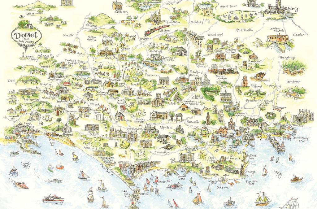 Explore Kate Chidley's Dorset