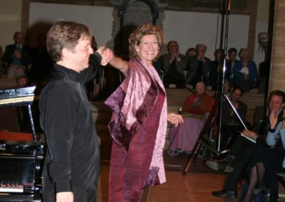 Dame Felicity Lott and Eugene Asti