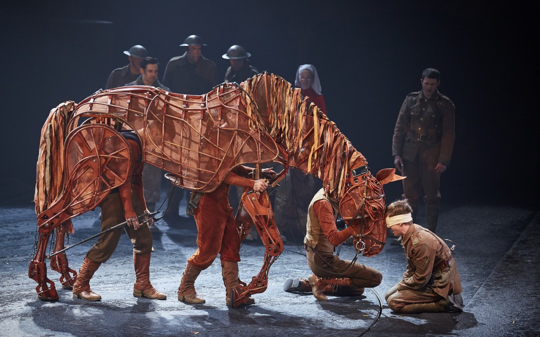 War Horse Joey in Sherborne photo call