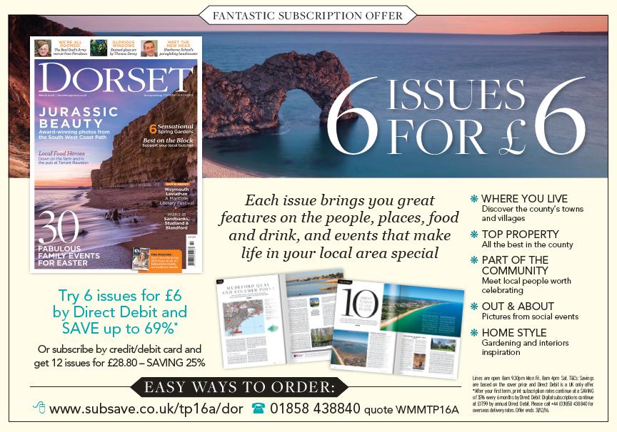 Dorset Magazine supports Festival